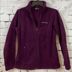 Columbia soft purple jacket